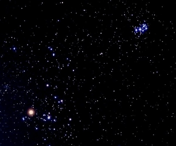 The Hyades and the Pleiades