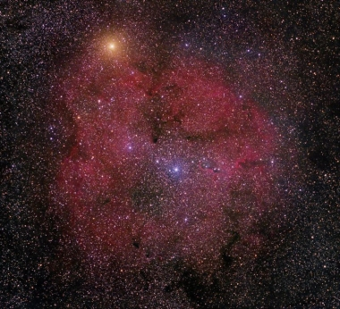IC 1396 and Mu Cephei