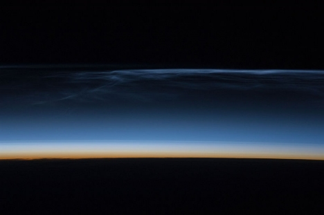 Noctilucent Clouds Over Central Asia