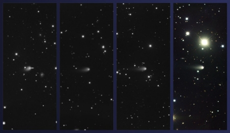 Time-Sequence Images of Comet ISON