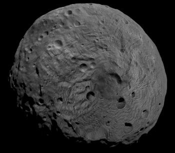 Vesta's South Pole