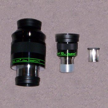 Eyepieces by Barrel Size
